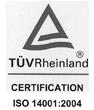 TUVRheinland ISO 14001