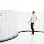 Cloison design separation bureau