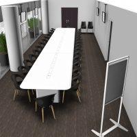 Table-de-reunion-en-resine-de-synthese-chaises-DROP-POP