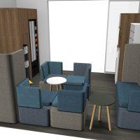VUE 18 Meeting Café 5 ème étage