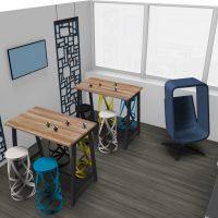 VUE 2 Meeting Café 2-3-4 ème étage