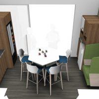 VUE 22 Meeting Café 6 ème étage