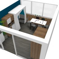 VUE 7 Meeting Café 2-3-4 ème étage